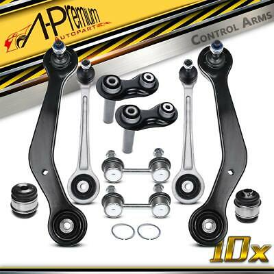 A-Premium 10 Pcs Rear Track Control Arm Kit + Bushes For BMW 7 Series E38 94-01 • 82.99£