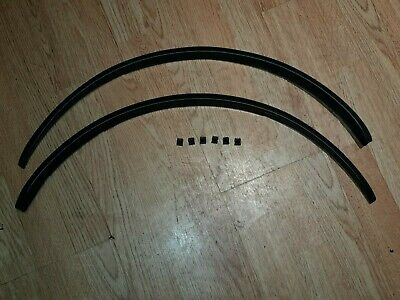 Smart Fortwo 450 Brabus Rear Wheel Arches Wing Extensions Pair With Clips • 40£