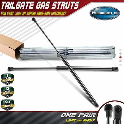 2x Tailgate Rear Boot Trunk Gas Struts For Seat Leon MK2 1P1 2005-2012 Hatchback • 313£