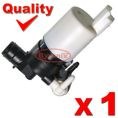 Peugeot 207 307 308 807 1007 Washer Pump Electric Motor Twin Double Water Outlet • 9.95£