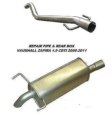 Vauxhall Zafira 1.9Cdti (05-11) Exhaust Rear Box & DPF Repair Pipe • 87.96£