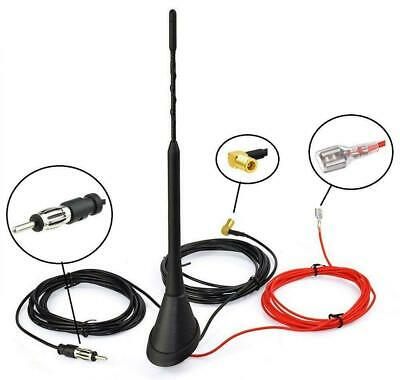 Universal Roof Mount Active Amplified DAB + FM Radio Car Aerial Antenna Mast • 28.31£