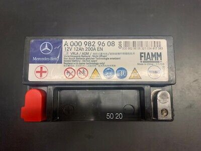 Genuine Mercedes Benz Auxiliary Battery A0009829608 NEW • 87.80£
