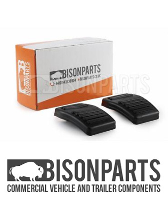 *FITS FORD TRANSIT CONNECT 2002-13 CLUTCH / BRAKE PEDAL PAD RUBBERS - TRA652 X2 • 2.90£
