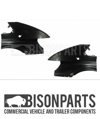+ford Transit Mk6 2000-2006 Front Wing Panels (with Holes) Lh & Rh Tra178 Tra179 • 57.60£