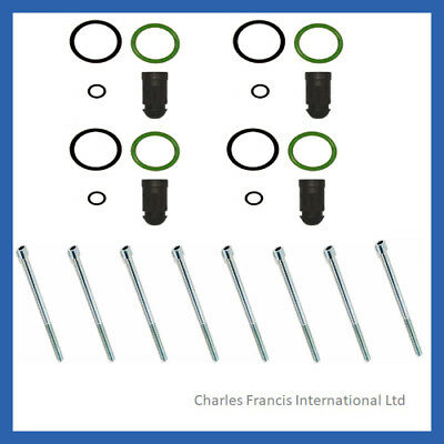 Vw Golf Injector Seal Kit + Bolts For Siemens Vdo Ppd Injectors • 33£