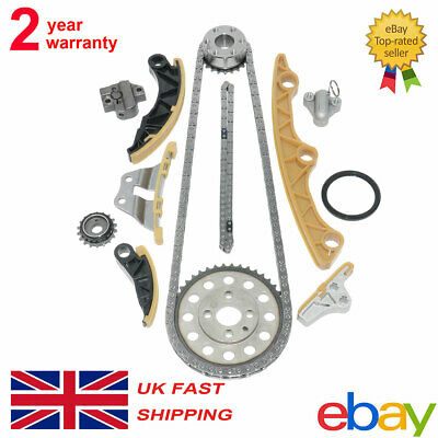 For MAZDA 3 6 CX7 2.2 DIESEL R2AA / BF MZR-CD 2184CC TIMING CHAIN + OIL PUMP KIT • 71.88£