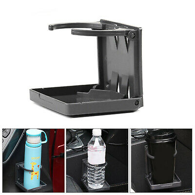 Universal Car Cup Holder Folding Mount Water Bottle Mug Stand Drink Holders UK • 6.19£