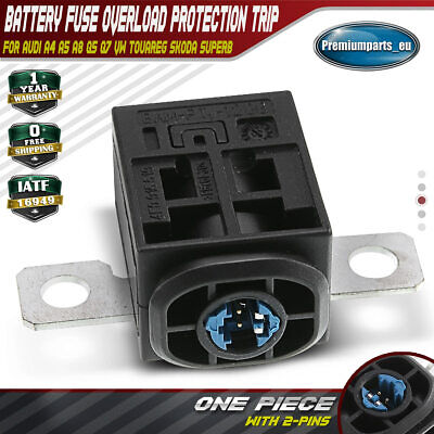 Battery Cut Off Fuse Overload Protection Trip For Audi A4 A5 A6 A8 Q7 VW Touareg • 12.99£