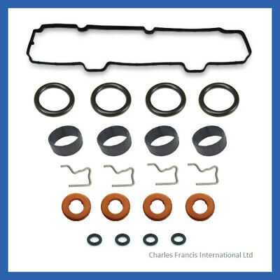 Ford Fiesta Fusion 1.4 TDCI Injector Seals Clips Rocker Cover Gasket  1148101 • 22.50£