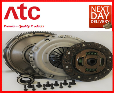 PEUGEOT 407 CLUTCH KIT AND FLYWHEEL 2.0 HDi 04 ONWARD DW10BTED4 - RHR 6D 6E 6C • 139.99£