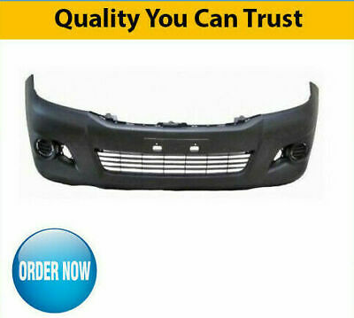 2012-2016 Toyota Hilux Front Bumper No Flare Holes With Grille High Quality • 72.60£