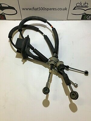 Fiat 500 Twin Air 5 Speed Gear Cables With Stop Start 2008 Onward • 42.34£