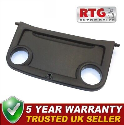 Black Dashboard Dash Cup Can Holder Tray Panel 1430973 For Ford Transit 06-13 • 29.95£