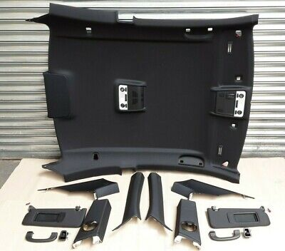 BMW E92 Coupe - Complete Black Anthracite Roof Lining Set / Headliner Kit #096 • 150£