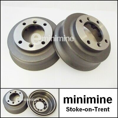 Classic Mini Rear Brake Drum SPACED GDB106 PAIR Rover 1275GT Cooper S • 32.95£