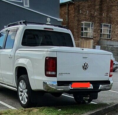 1pc Lid Hard Tonneau Cover For Vw Amarok 2010-2018 Double Cab  Candy White • 650£