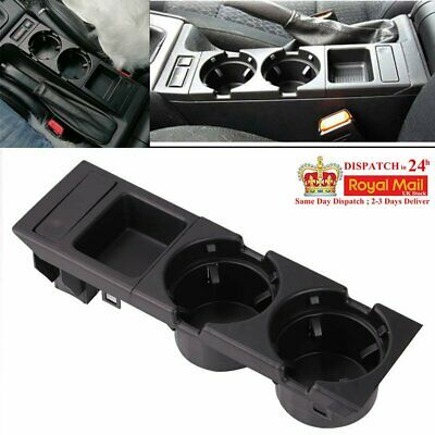 For 98-05 BMW 3 Series E46 Center Console Drink Cup Holder Coin Storage Set • 17.85£