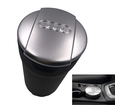 AUDI A3 A4 A5 A6 A7 Q3 Q5 RS3 8V S3 Genuine Cup Chrome Lid Ashtray Cup Holder • 26.99£