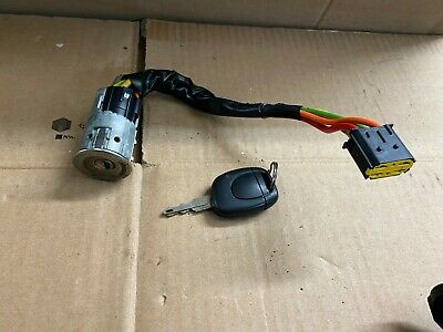 Renault Clio Mk2 (01-05) Ignition Barrel With Key • 9.99£