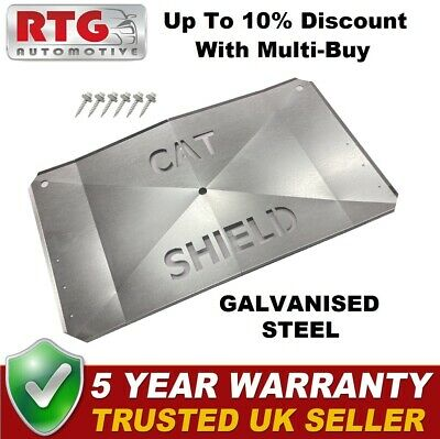 Catalytic Converter Anti Theft Steel Plate For Honda Jazz 2002-2008 1.2 1.3 1.4 • 39.99£