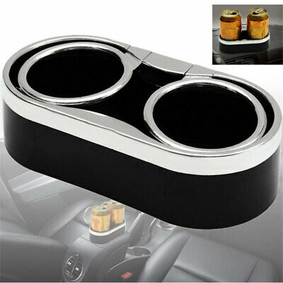 Universal Car Double Drink Bottle Water Cup Holder Stand Mount Auto Accessories • 7.11£