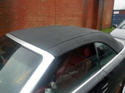 Audi A4 B6 00 - 06 Cabriolet Convertible Electric Hydraulic Black Soft Roof Hood • 199.99£
