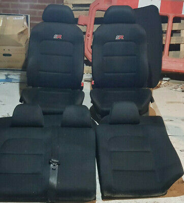SEAT Leon Cupra R Mk1 1M Front And Rear Car Seats - Very Good Condition • 150£
