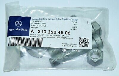 Mercedes Screws Set Of Mounting Arm Suspension Genuine New A2103504506 • 8.86£