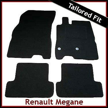 Renault Megane Mk3 Coupe 2008-2016 Tailored Fitted Carpet Car Floor Mats BLACK • 19.99£