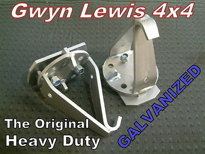 Land Rover Spring Relocator Dislocation Cones Challenge Suspension Gwynlewis4x4 • 65.78£