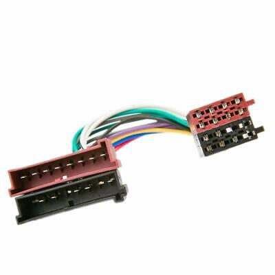 ISO Radio Wiring Harness Adapter Lead Connector For Ford • 4.11£
