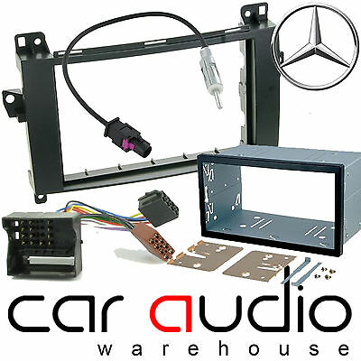 Mercedes Benz Sprinter W906 Car Stereo Double Din Facia & Fitting Kit DFPK-23-04 • 39.99£