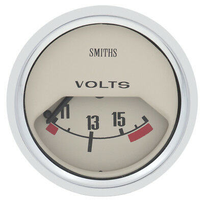 Classic Mini Gauge - 52mm - Volt Meter - Magnolia Colour    GAE122M • 58£