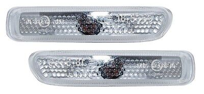 Bmw 3-series E46 Convertible (00-08/01) Side Indicator Repeaters - Clear • 24.50£