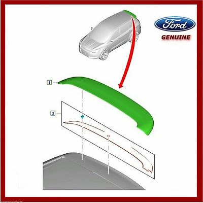 Genuine Ford Kuga MK2 Rear Spoiler With Fitting Kit 1872142 & 1837245 • 219.95£