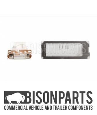 *fits Fiat Ducato (2006 - 2014 & 2014 Onwards) Rear Number Plate Lamp Fia030 • 12.50£