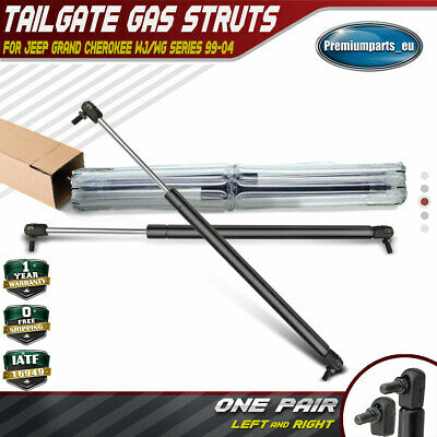 2x Tailgate Boot Trunk Gas Struts For Jeep Grand Cherokee WG WJ 1999-2004 SUV • 313.99£
