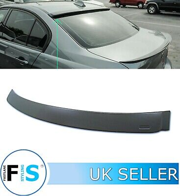 Bmw 3 Series E90 Rear Roof Window Spoiler Matte Black 2005-2013 100% Oem Fit • 46.99£