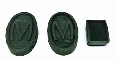 Morris Minor 'm' Pedal Rubbers Set(all Models)special M Embossed • 12£