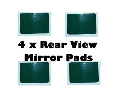 4 X SUMMIT REAR VIEW MIRROR / DASH CAM WINDSCREEN STICKY ADHESIVE PADS • 3.79£