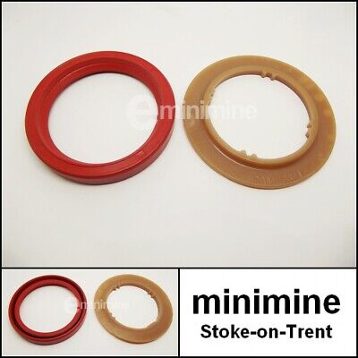Classic Mini Primary Gear Clutch Oil Seal & Protector Shield DAM2821 13H2934 • 6£
