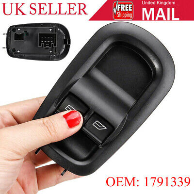 For Ford Transit MK8 CUSTOM 1791339 Right Driving Side Door Double Window Switch • 19.19£