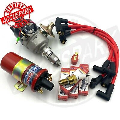 Classic Mini 59D A+ Electronic AccuSpark Distributor Pack. Fast Road Plugs  • 94.75£