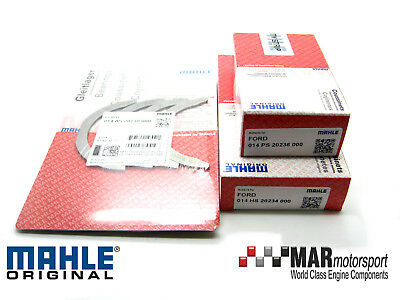 MAHLE FORD Pinto / YB Cosworth 2.0 OHC MAINS / BIG ENDS / THRUST Set 0.25mm • 89£