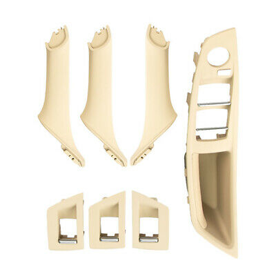 Driver Seat Armrest Interior Door Handle 1-Hole For BMW F10 RHD (Beige) L&6 • 32.92£