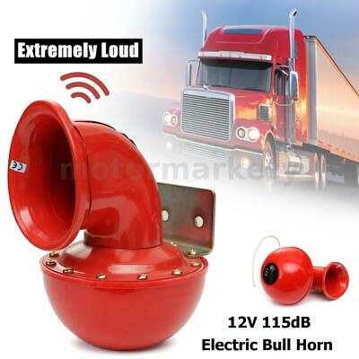 12V 300DB Electric Bull Horn Loud Trumpet Red For Car Motorcycle Truck Boat • 11.59£
