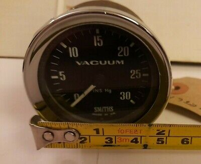 CLASSIC 1960's SMITHS 2  VACUUM GAUGE, USE IN GOOD CONDITION, NO RETAINING CLIP  • 20£