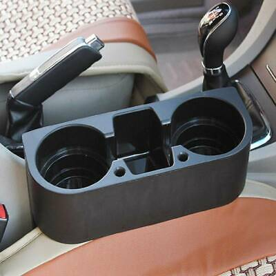 Universal Dual Car Seat Cup Holder Van Storage Drink Bottles Mug Mount Stand • 7.31£