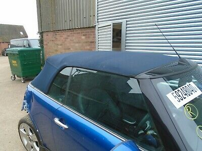 Mini Cooper S Convertible R52 2002 - 2006 Complete Roof, Blue, With Motor • 250£